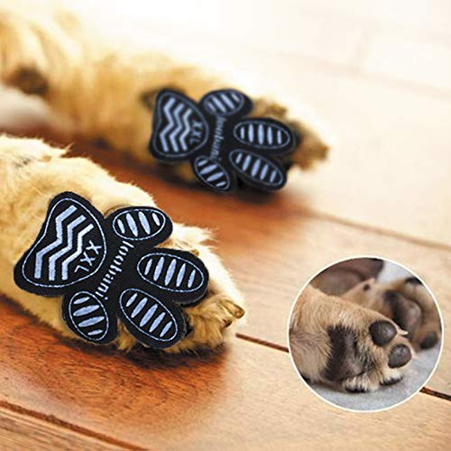 LOOBANI Dog Traction Pad Paw Protector PadGrips for Hardwood Floors, Friction Anti-Slip Pads for...