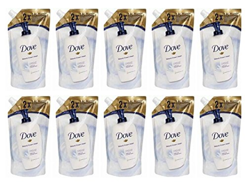 10x Dove Flüssigseife Original Ladekabel 500ml Beauty Cream Bar Körper Hände Maxi