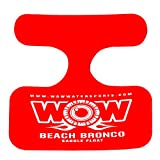 Wow World of Watersports, 14-2140 Beach Bronco Floating Pool Seat, Saddle Float, Red toddler pool float May, 2021