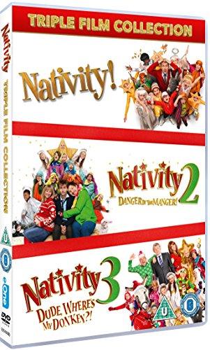 Nativity Triple (Nativity!/Nativity 2: Danger in the Manger/Nativity 3: Dude, Where's My Donkey?!) [DVD] [2015] [Reino Unido]