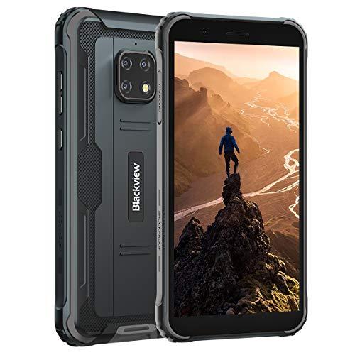 "Unlocked Rugged Phones, Blackview BV4900 Rugged Cell Phones with 5580mAh Battery IP68 Waterproof Drop Proof, 5.7"" Screen 3GB+32GB Dual SIM for GSM T-Mobile, Black"