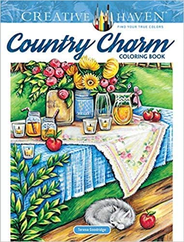 0486821684 9780486821689 Creative Haven Charm Country Colori Award-winning Regular dealer store