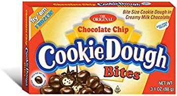 12-Pack Chocolate Chip Cookie Dough Bites 3.1 Ounce