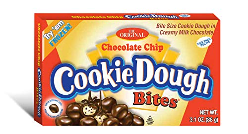 Cookie Dough Bites, Chocolate Chip, 3.1 Ounce (Pack of 12)