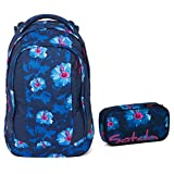 Satch Sleek Schulrucksack Set 2tlg. - Verschiedene Farben (Waikiki Blue)