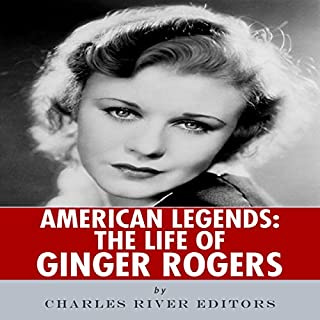 American Legends: The Life of Ginger Rogers audiobook cover art