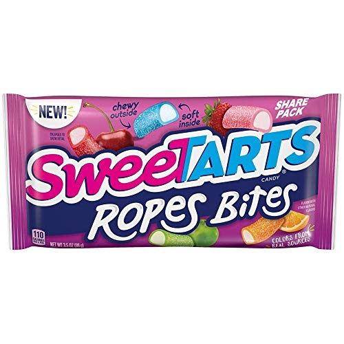 Sweetart Rope Bites - Share Pack, 3.5 Ounce -- 48 per case.
