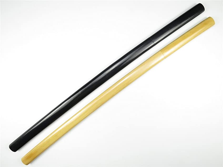 傾いたパスストレッチぬらりひょんの孫 日本刀 武士刀 アニメ イベント 武器 木製模造刀 コスプレ道具 全長100cm 原木色