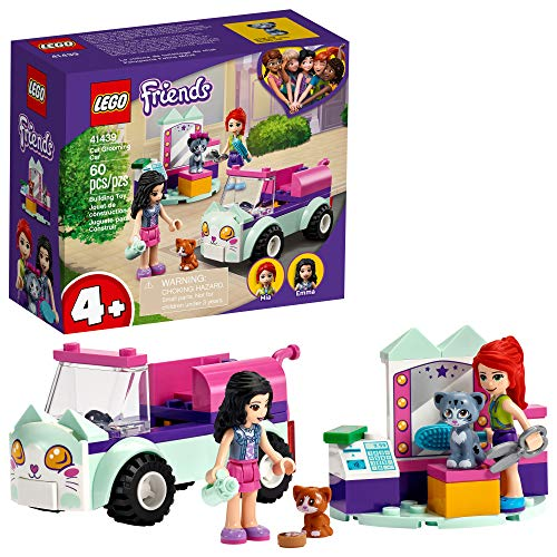 LEGO Friends Cat Grooming Car 41439 Building Kit; Collectible Toy That Makes a Great Holiday or...