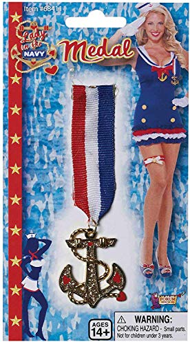 Lady in Navy Medal