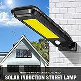 Solar Lights Lighting Outdoor 210 COB LEDs Waterproof Home Garden Wall Lamp