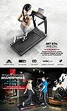 Sportstech FX300 Ultra Slim Laufband – Deutsche Qualitätsmarke – Video Events & Multiplayer APP, Riesen Lauffläche 51x122cm & kein Aufbau, 16 km/h,USB Ladeport, Pulsgurt kompatibel für Cardio Training - 2