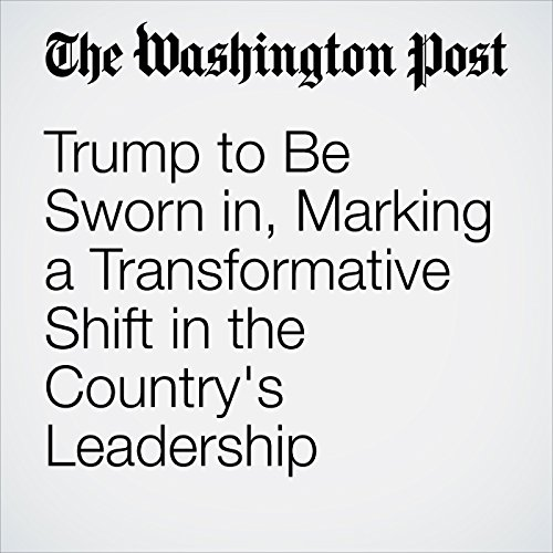 Trump to Be Sworn in, Marking a Transformative Shift in the Country's Leadership copertina