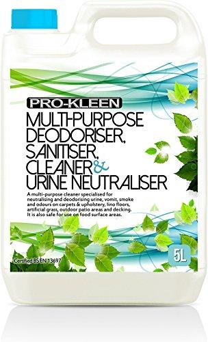 5L of Multi-Purpose Deodoriser, Disinfectant, Sanitiser, Cleaner & Urine...