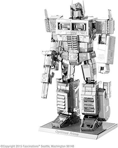 Metal Earth - Maqueta metálica Transformers Series Optimus Prime , color/modelo surtido