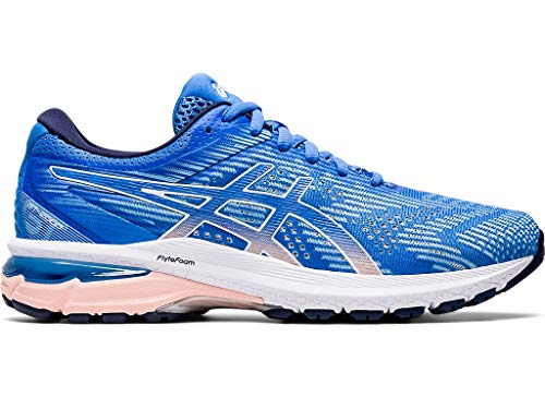 ASICS Women's GT-2000 8 Shoes, 8M, Blue Coast/White