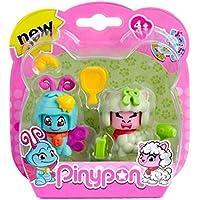 Pinypon Pack 2 mascotas, mariposa y oveja. (Famosa) (700012732)