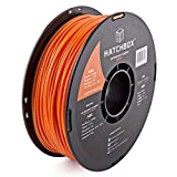 HATCHBOX ABS 3D Printer Filament, Dimensional Accuracy +/- 0.05 mm, 1 kg Spool, 3.00 mm, Orange