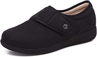 W&Le-Slippers Women's Adjustable Diabetic Slippers - Wide Width Arthritis,Edema Shoes