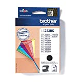 Image of Brother LC-223BK Inkjet Cartridge, Black, Single Pack, High Yield, Includes 1 x Inkjet Cartridge, Brother Genuine Supplies
