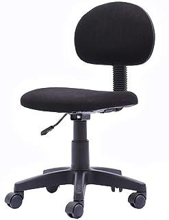ZHANGZZ Sillas de oficina escritorio, una silla de respaldo ordenador personal compacta Silla de oficina giratoria telesilla del asiento trasero de la silla del ordenador personal, sillas de escritori