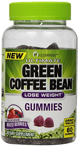 Phytogenix Ultimate Green Coffee Bean Gummies Mixed Berries 60