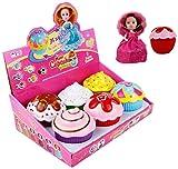 Kinderküche Zubehör,Cupcake Spielzeug Mini Cupcake überraschung Duftenden Prinzessin Cupcake Puppe Magische Geschenk Spielzeug Für 3 Jahre Alte Mädchen
