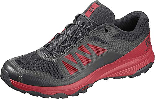 Salomon Herren Trail Running Schuhe, XA DISCOVERY, Farbe: schwarz (Black/High Risk Red/Black) Größe: EU 44 2/3