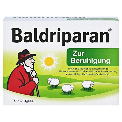 BALDRIPARAN Zur Beruhigung überzogene Tabletten 60 St