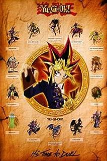 Yu-Gi-Oh Dark Magician Girl Manga Wallscroll Poster Kunstdrucke Bider Drucke
