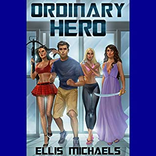 Ordinary Hero audiobook cover art