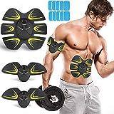Electroestimulador Muscular Abdominales, Estimulación Muscular Masajeador Eléctrico 6 Modos de...