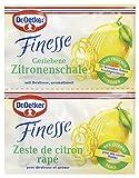 Dr. Oetker Finesse Geriebene Zitronenschale, (2 x 6 g) -