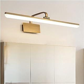 Creative 43/56/72cm Mirror Front Lights American Style Household Bathroom Toilet Bathtub Waterproof Fog Bedroom Dressing T...