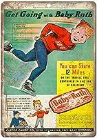 Baby Ruth Curtiss Candy Chicago ティンサイン ポスター ン サイン プレート ブリキ看板 ホーム バーために