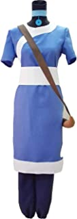 (Procosplay)the Last Airbender Korra Water Tribe Outfit Cosplay Costume &100% Hand Made