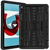 Verco Hülle für Huawei Mediapad M5 / M5 Pro 10.8, Outdoor Schutzhülle Armor Tablet Hülle Cover, Schwarz