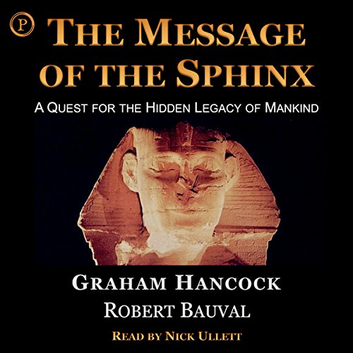 The Message of the Sphinx audiobook cover art