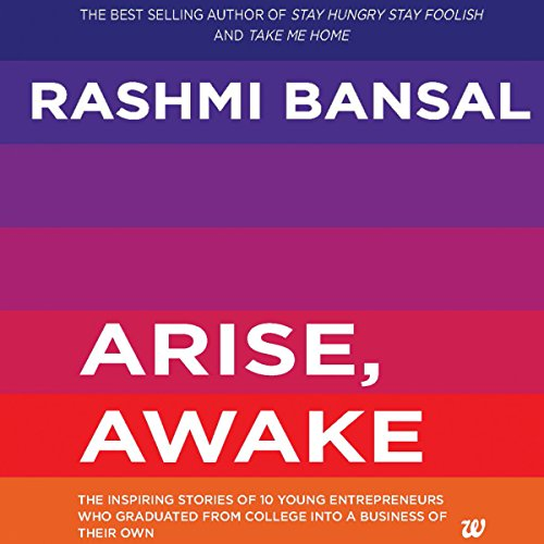 Arise, Awake audiobook cover art