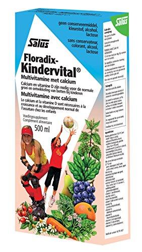 Floradix Kindervital Original Formula Childrens Liquid Multivitamin 500ml