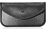 MONOJOY Faraday Bag for Car Key Fob and Cell Phone Signal Blocker Large Case, Keyless RFID Signal Blocking Large Black Bags