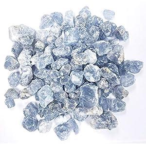 Celestite Crystal Rough Stones