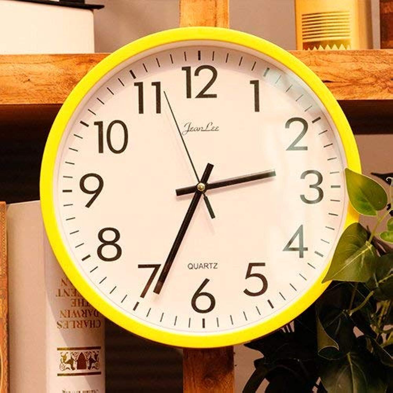 Tu satisfacción es nuestro objetivo Oudan Reloj de Parojo Movimiento silencioso Reloj de Parojo Parojo Parojo Decoración de Oficina en casa para Sala de Estar Dormitorio y Cocina Reloj de Parojo Niños Room10 In amarillo1  Web oficial