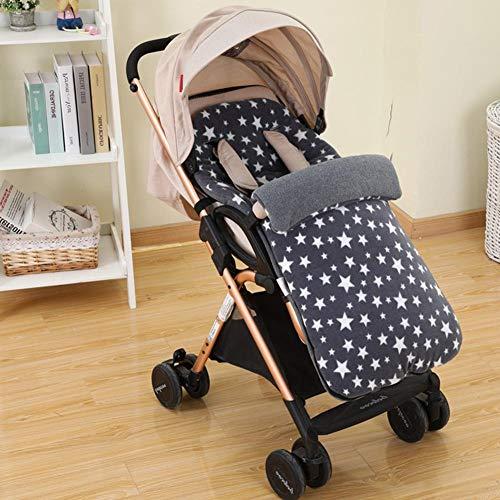 Perfecthome Universele babystroller warm voetdeksel, slaapzak, voor baby, herfst en winter, paraplu, windbestendig, voetbal-afdekking, anti-kiepen, fleece