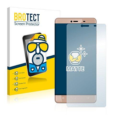 BROTECT 2X Entspiegelungs-Schutzfolie kompatibel mit Allview P8 Energy Mini Bildschirmschutz-Folie Matt, Anti-Reflex, Anti-Fingerprint