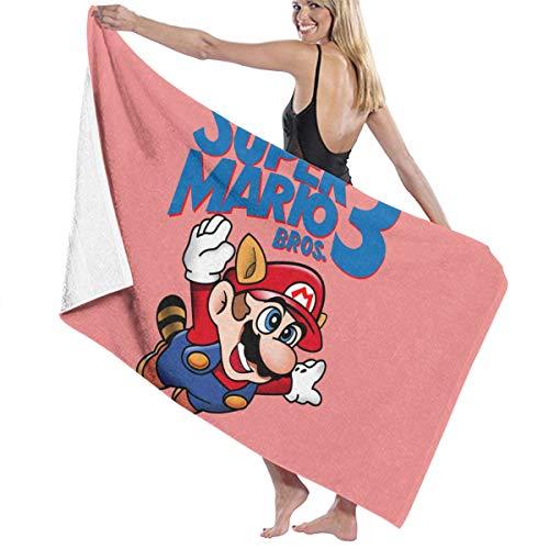 Zachary Sherman Super Mario Bros 3 Toallas de baño Playa Toalla de baño antibacteriana Absorbente Suave 130 x 80 cm