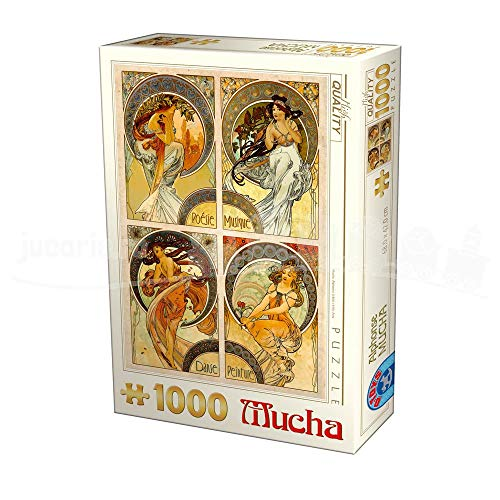 D-Toys Puzzle 75895/ MU 10 1000 pcs Alphonse Mucha Arts