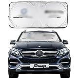 JYMAOYI Sunshade Windshield Visor Cover Car Window Sun Shade UV Protect Car Window Film for Most E-Class S-Class GLC GLE G-Class GLS GLC GLE G-Class GLS
