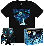 Funko Game of Thrones Pop! & tee Box Icy Viserion heo Exclusive Size L Shirts...
