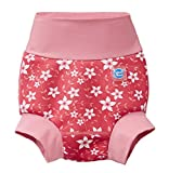 Splash About Happy Nappy Pañal de Baño Reutilizable - Pink Blossom 6-12 Meses